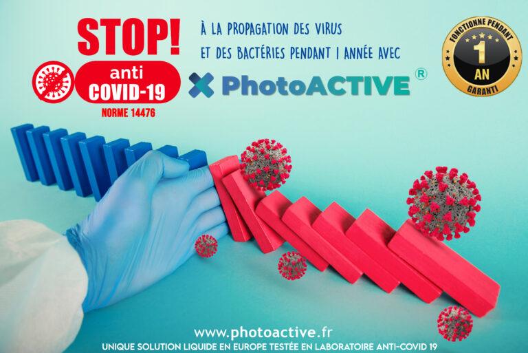 PhotoACTIVE Stop COVID19